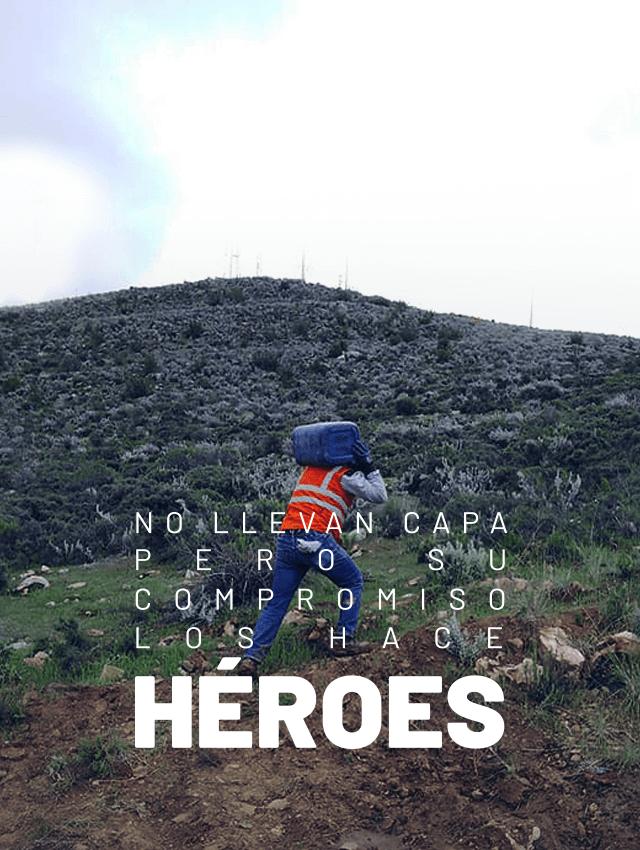 No llevan capa pero su compromiso los hace héroes