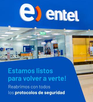 Apertura de Tiendas Entel Perú