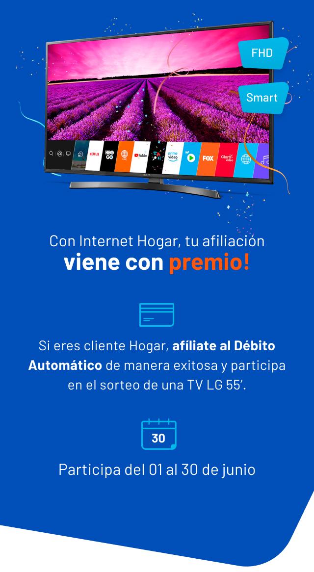Sorteo Tv Hogar Entel Peru