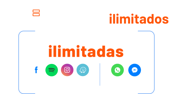 Apps ilimitadas prepago power