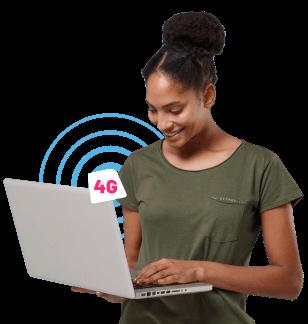 Conéctate a Internet hogar! 30% Dscto. en el cargo fijo mensual x los primeros 6 meses