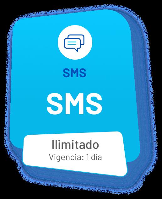 SMS ilimitado (vigencia: 1 día)