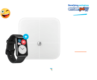 Pack Watch Fit + Body Fat Scale