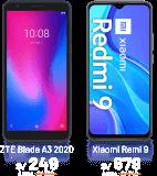 ZTE Blade A3 2020, Xiaomi Remi 9 y LG K42